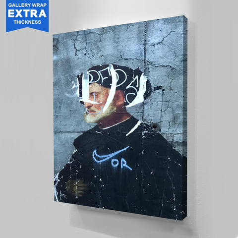 Street God Canvas Wall Art