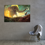 The Elephant's Gate Canvas Wall Art