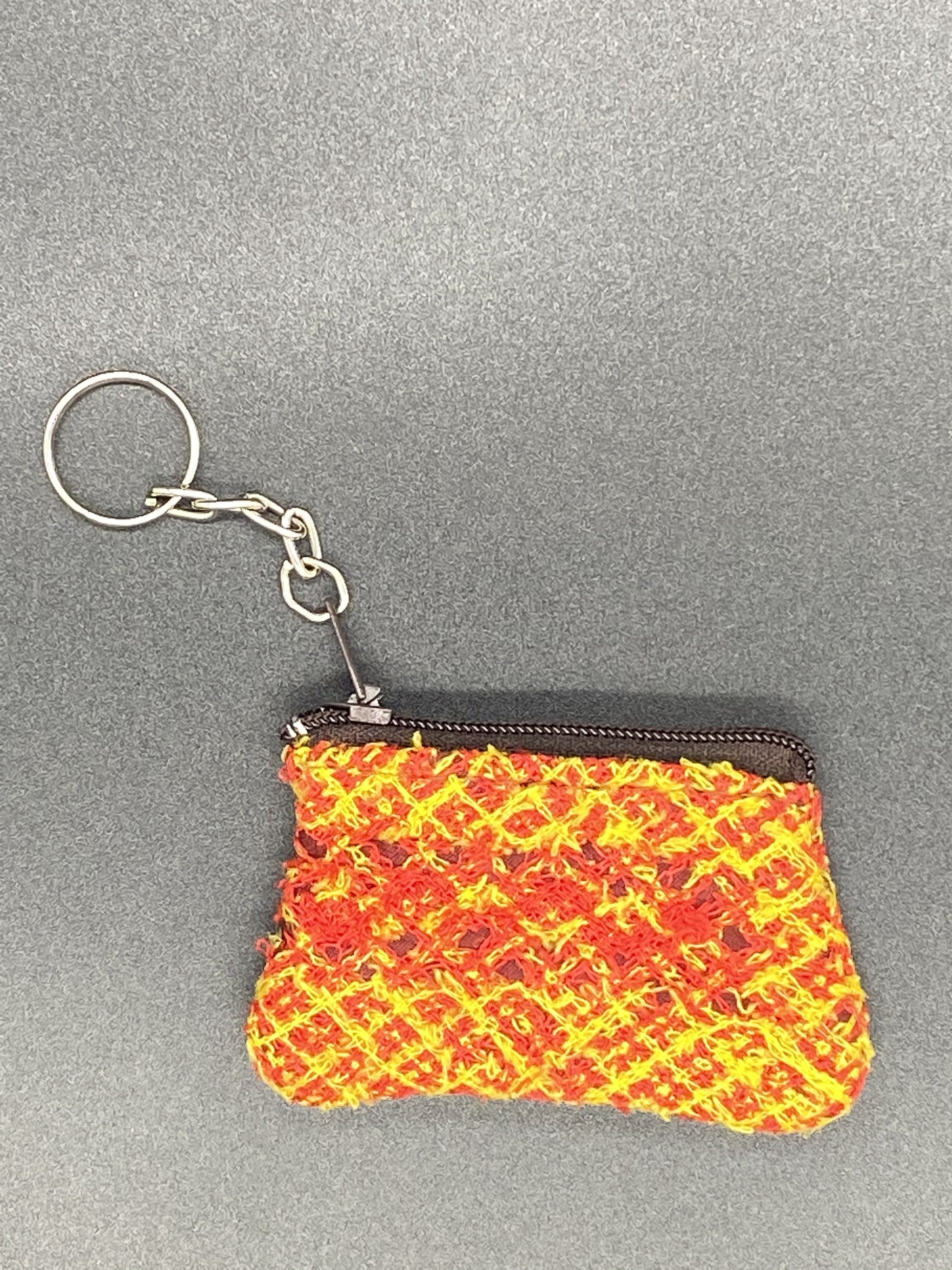 Mini Purse Hand Sewed Keychain - Corazón Clothing