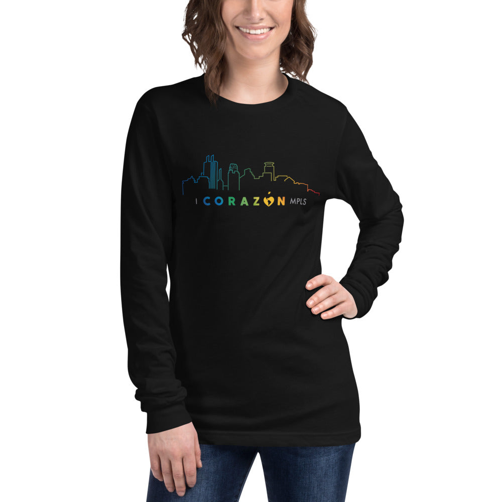 I Corazon MPLS Unisex Long Sleeve Tee - Corazón Clothing