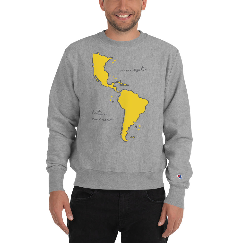 We're All One Champion Sweatshirt - Corazón Clothing