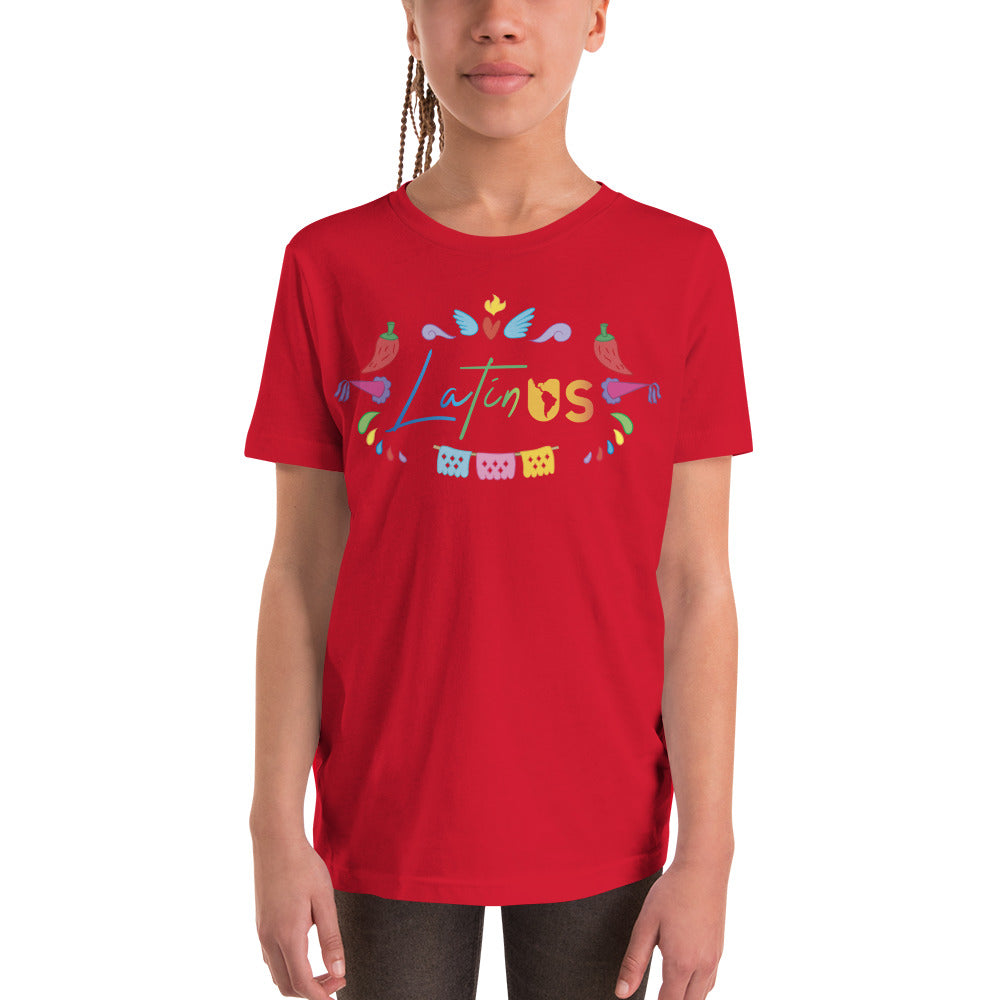 Latin Us Youth Tee - Corazón Clothing