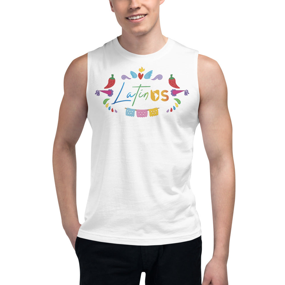 Latin Us Muscle Shirt - Corazón Clothing