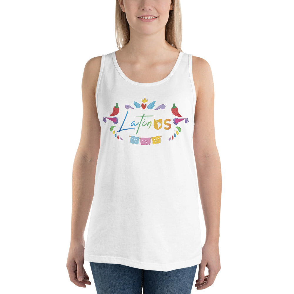 Latin Us Unisex Tank Top - Corazón Clothing
