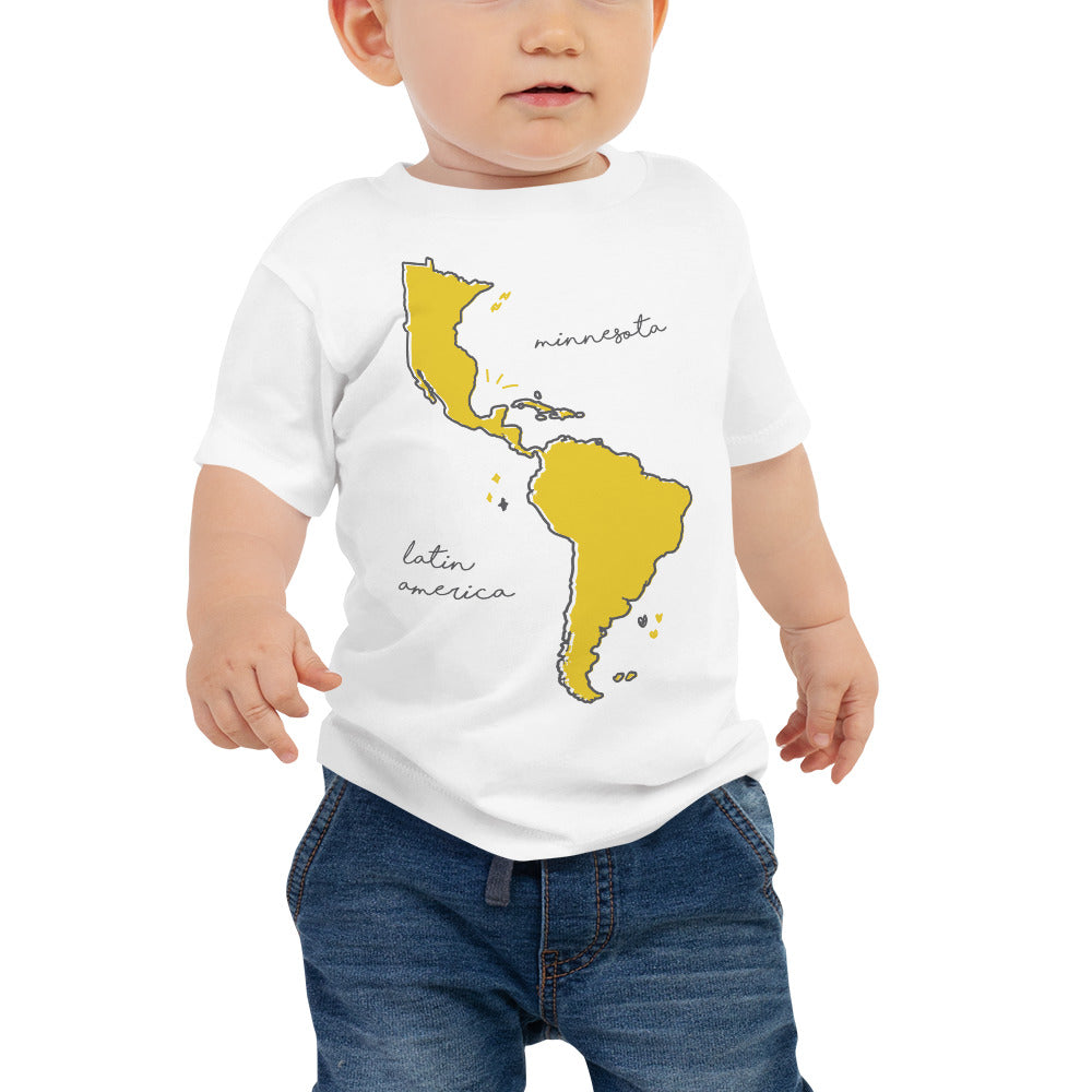 We're All One Baby Jersey Short Sleeve Tee - Corazón Clothing