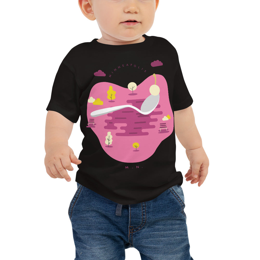 Cherry Bomb Baby  Jersey Short Sleeve Tee - Corazón Clothing