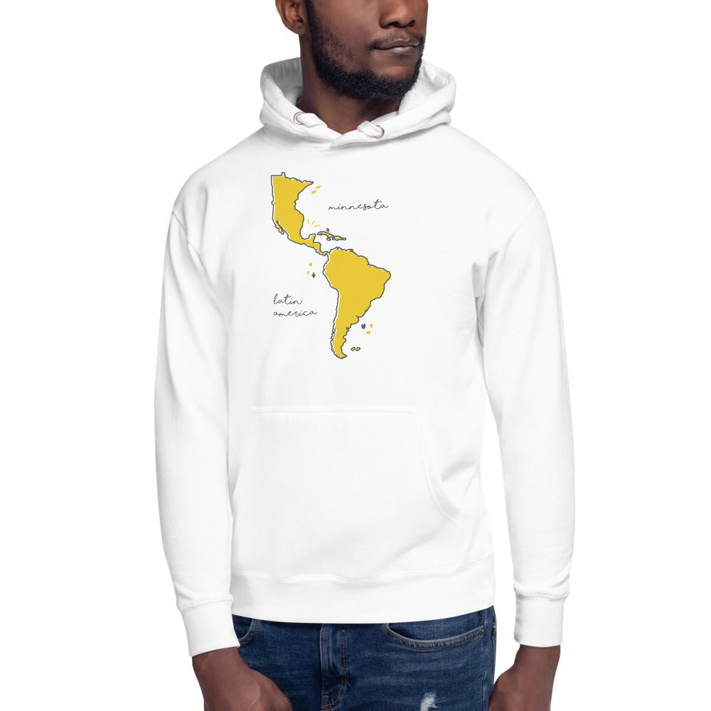 We're All One Unisex Hoodie - Corazón Clothing