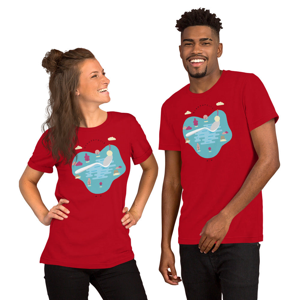 Cherry Bomb Short-Sleeve Unisex T-Shirt - Corazón Clothing