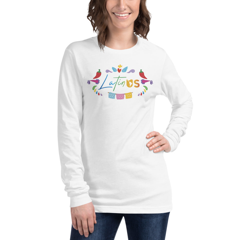 Latin Us Unisex Long Sleeve Tee - Corazón Clothing