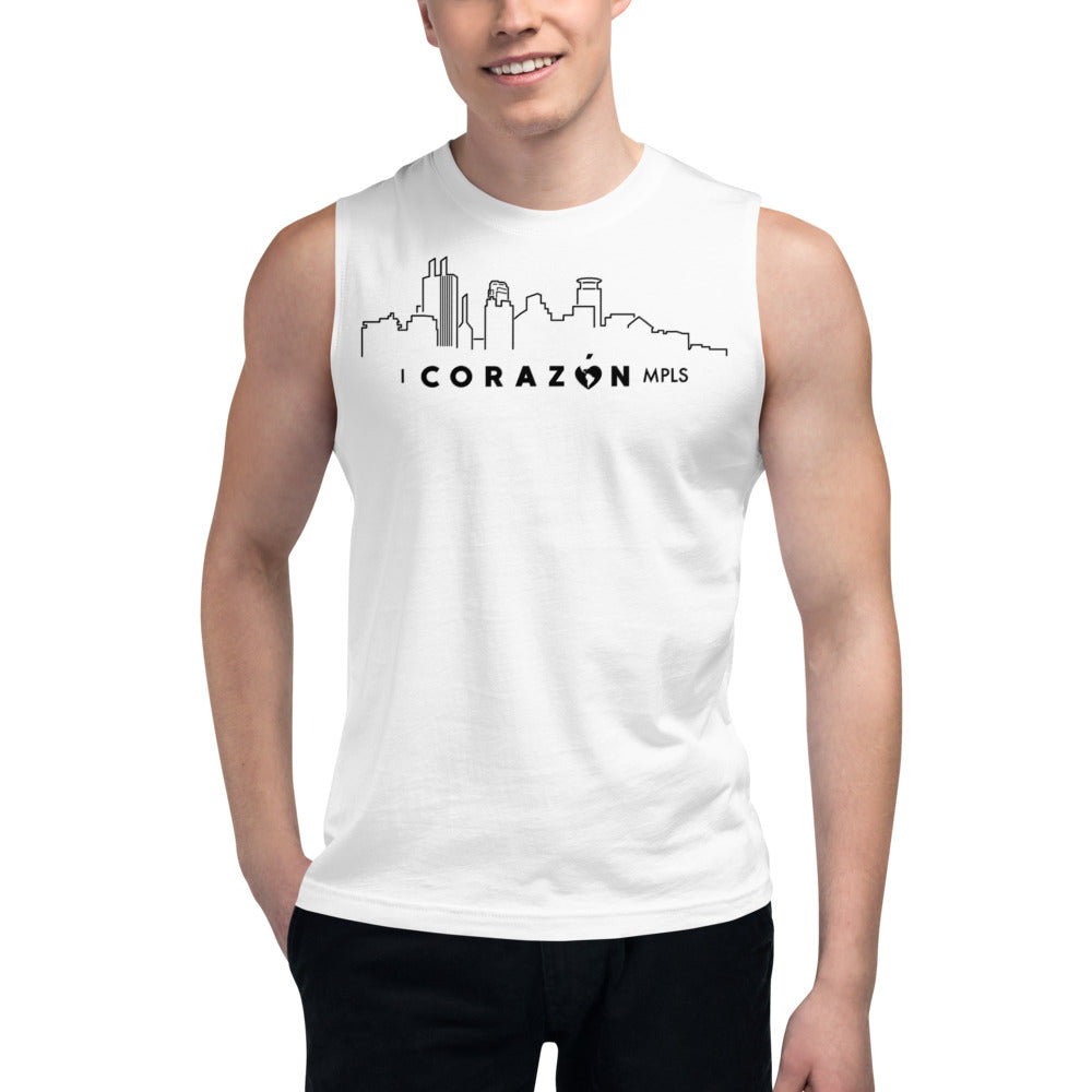 I Corazon MPLS Muscle Shirt - Corazón Clothing