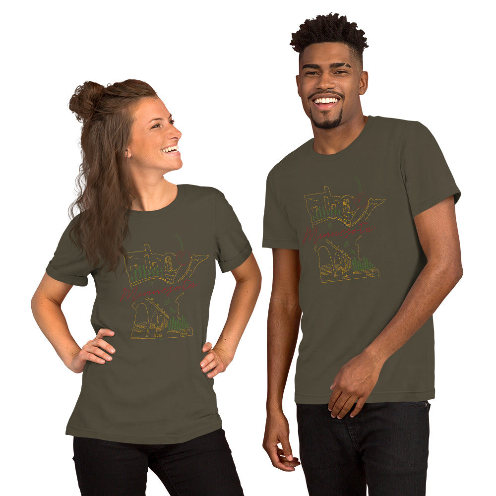 All of Minnesota Short-Sleeve Unisex T-Shirt - Corazón Clothing
