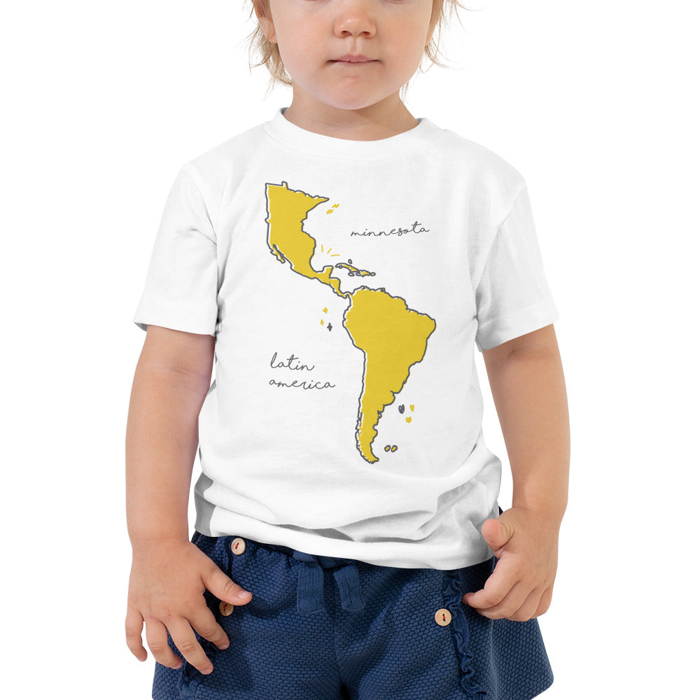 We're All One Toddler Short Sleeve Tee - Corazón Clothing