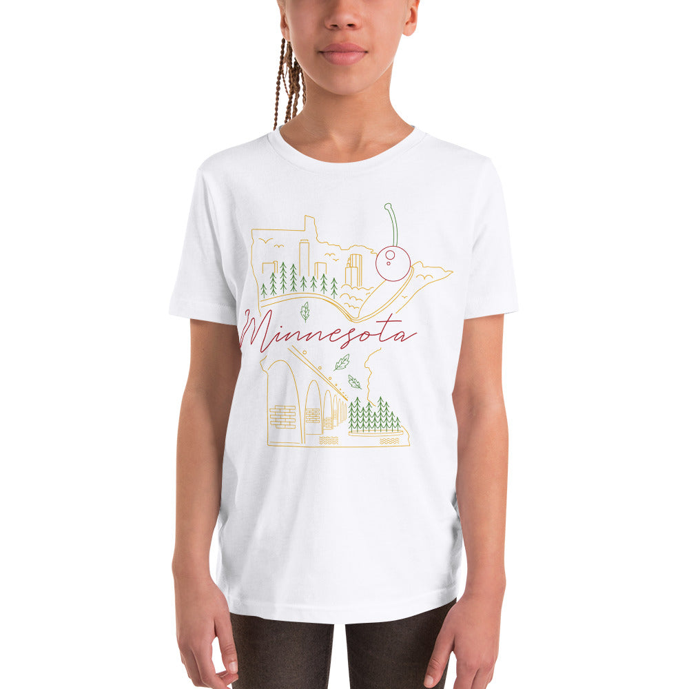 All of Minnesota Youth Tee - Corazón Clothing