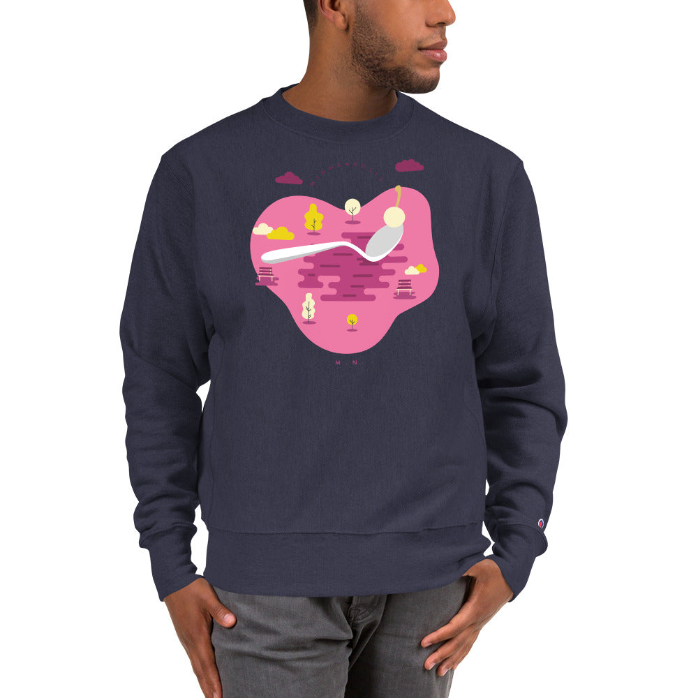 Cherry Bomb Champion Sweatshirt - Corazón Clothing