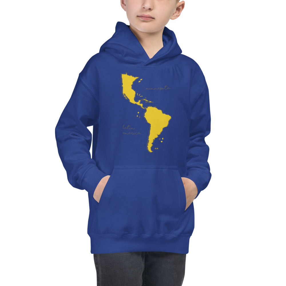 We're All One Kids Hoodie - Corazón Clothing