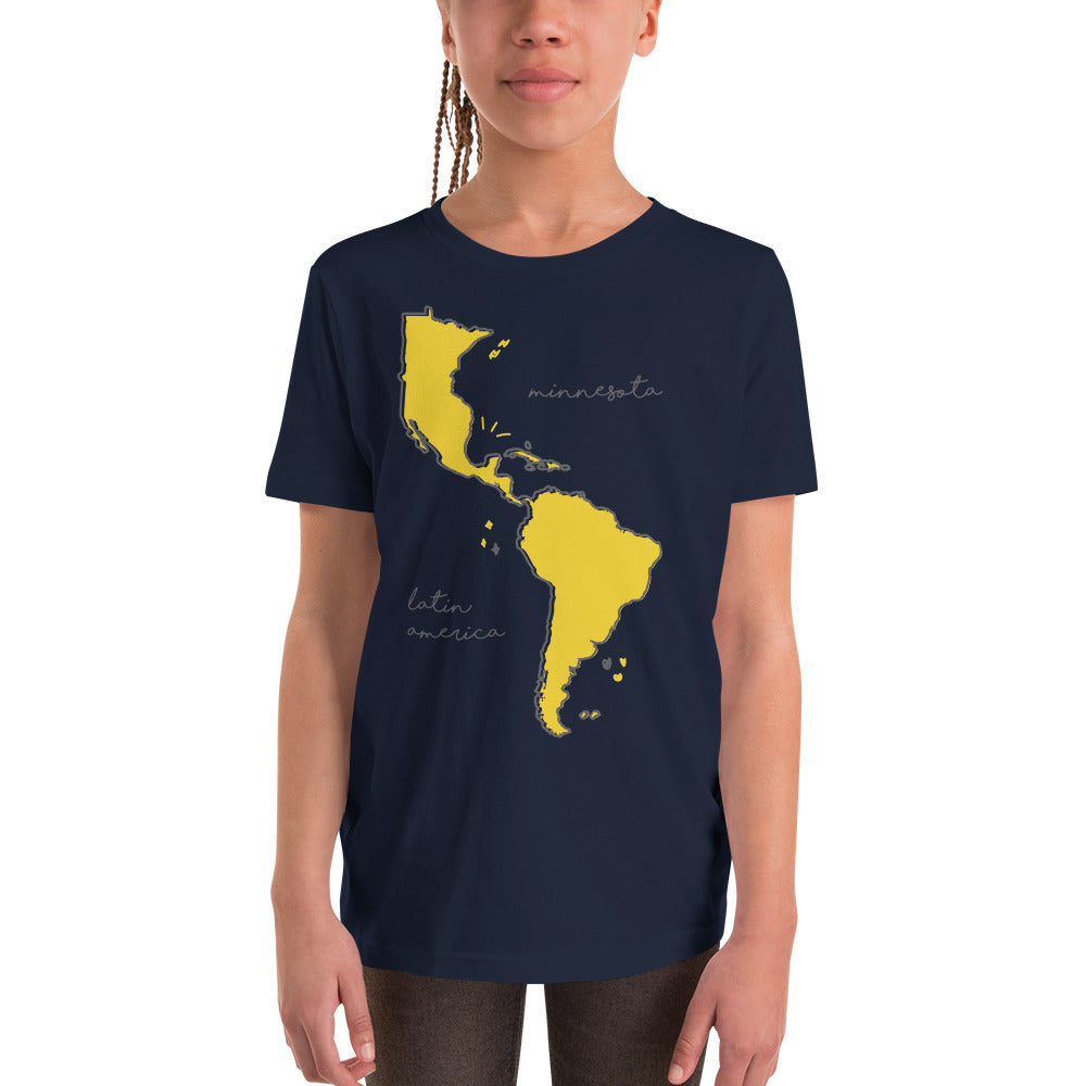We're All One Youth Tee - Corazón Clothing