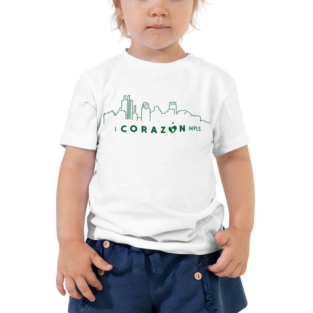 I Corazon MPLS Toddler Short Sleeve Tee - Corazón Clothing