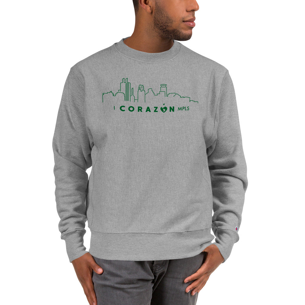 I Corazon MPLS Champion Sweatshirt - Corazón Clothing