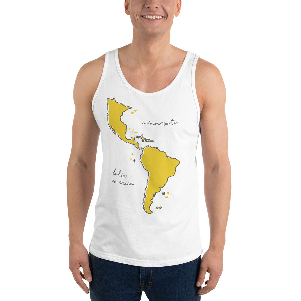 We're All One Unisex Tank Top - Corazón Clothing