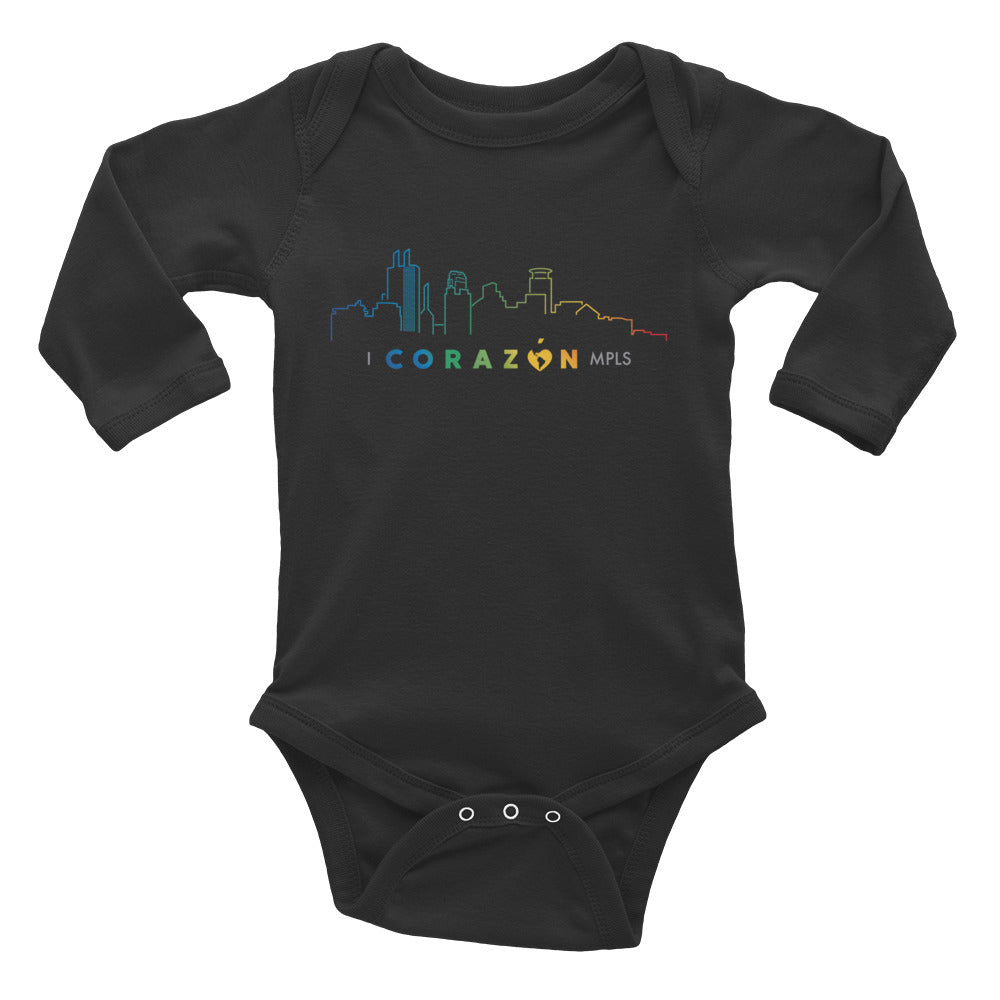 I Corazon MPLS Infant Long Sleeve Bodysuit - Corazón Clothing