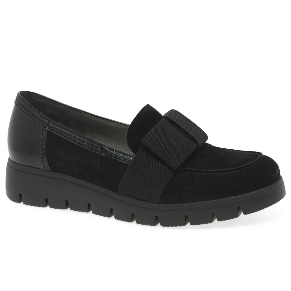 Emmie Black Loafer