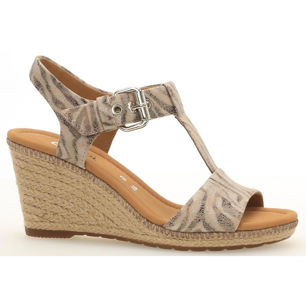 Karen Safari Wedge Sandals