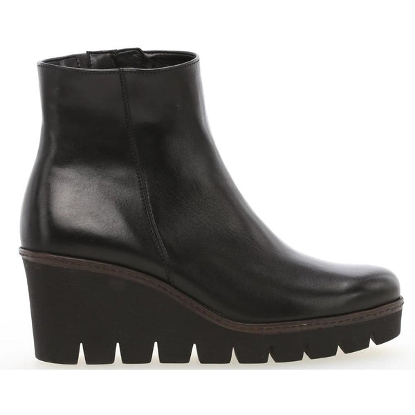 Utopia Black Ankle Boots