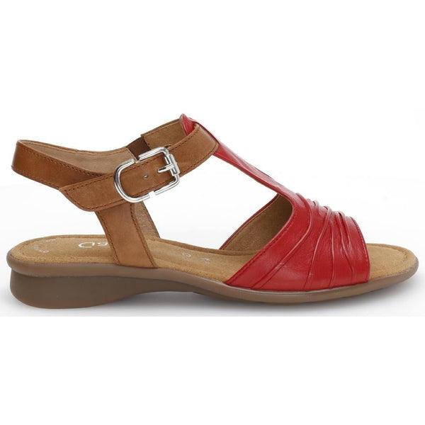 Moondust Red/Camel Sandals