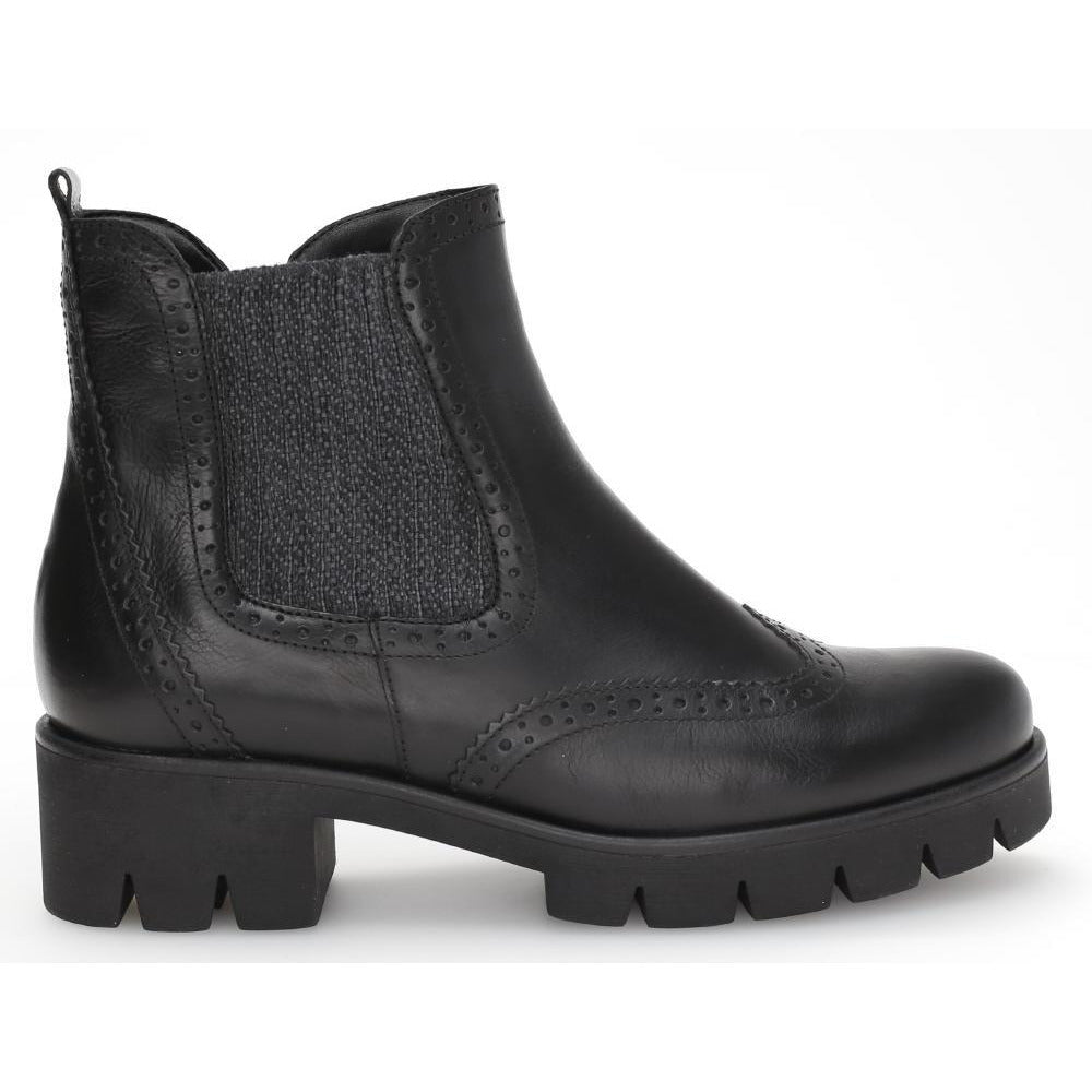 Bowcott Black Ankle Boots