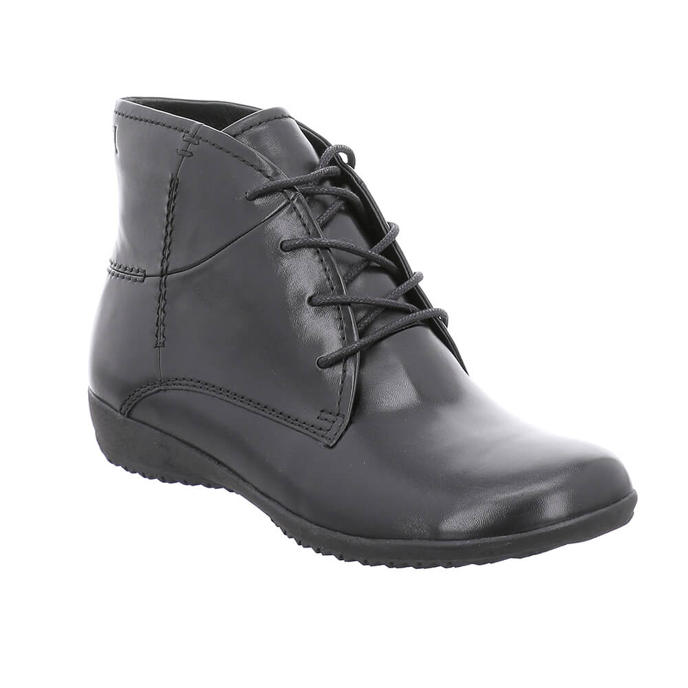 Naly 09 Black Ankle Boots