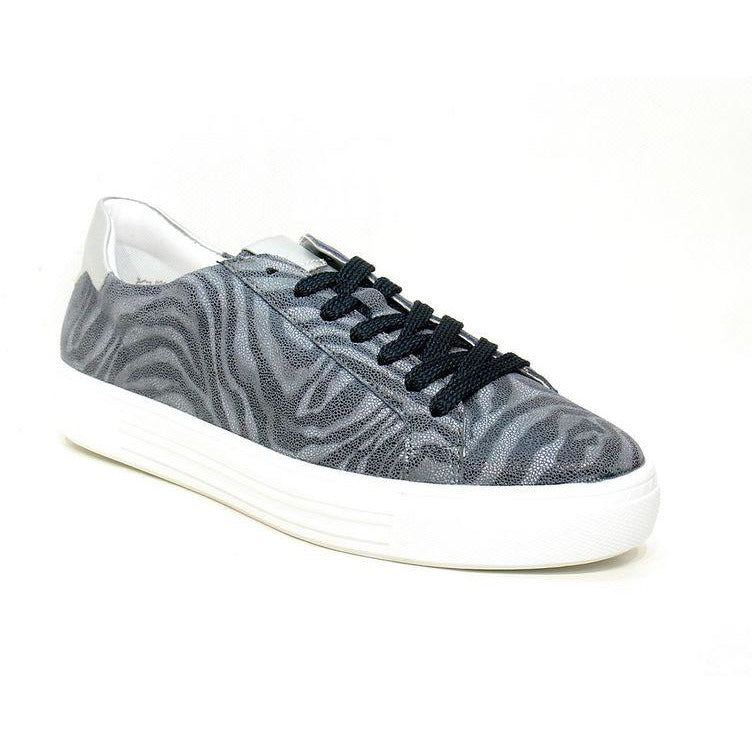 Dulcie Navy/Silver Lace Ups