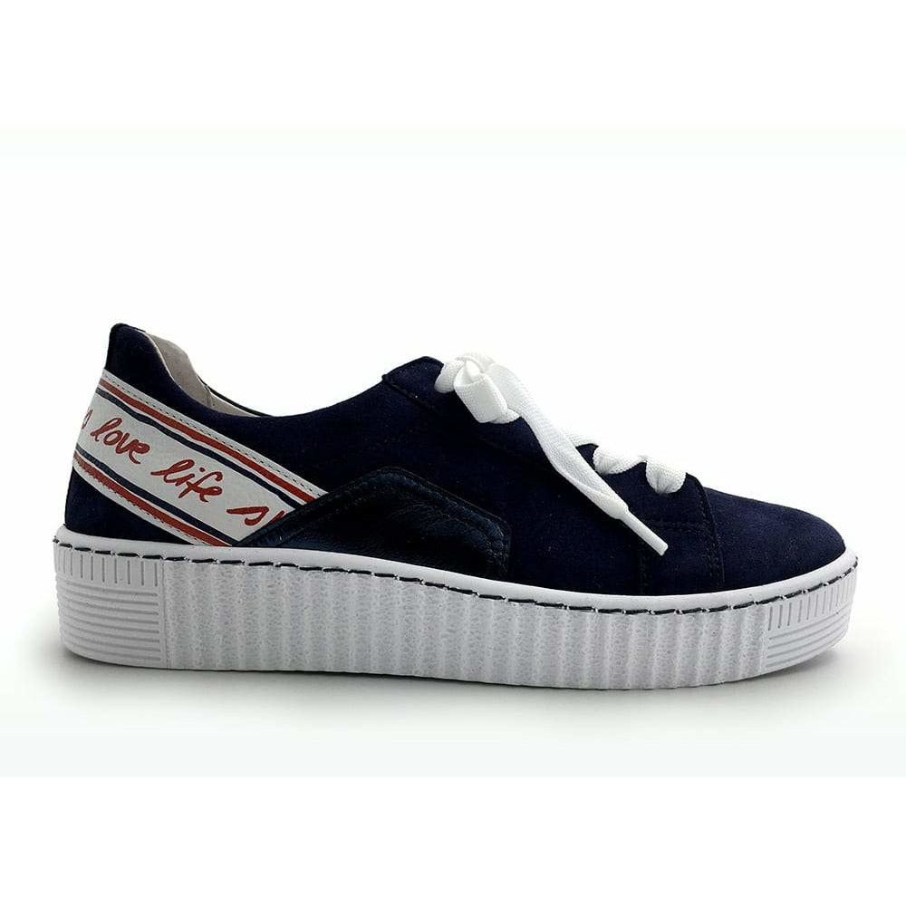Wilma Blue Casual Trainers
