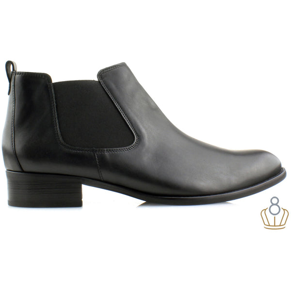 Zodiac Black Chelsea Boot