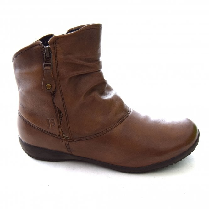 Naly 24 Brown Ankle Boots