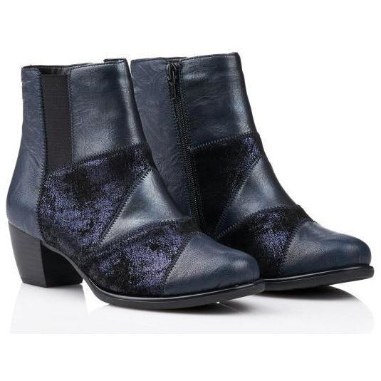 Kerry Blue Ankle Boots