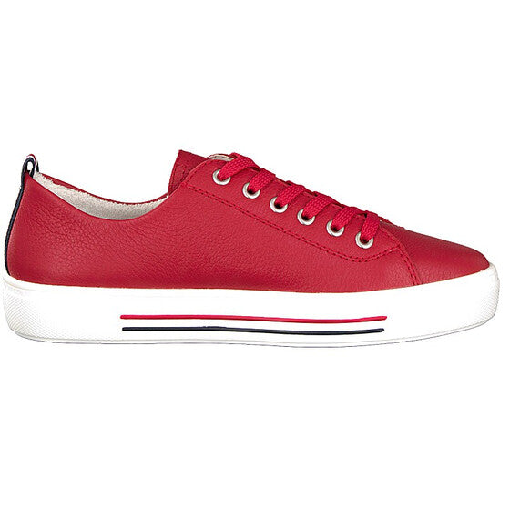 Diana Red Lace Ups