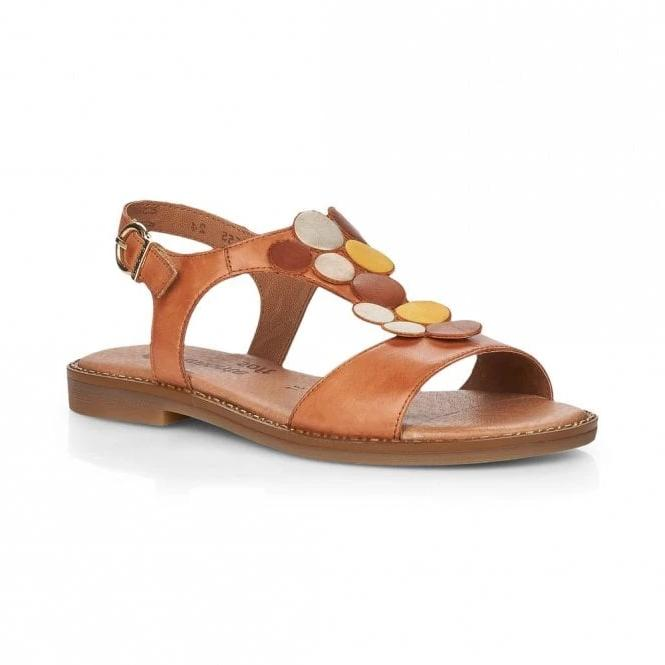 Flo  Brown Sandals