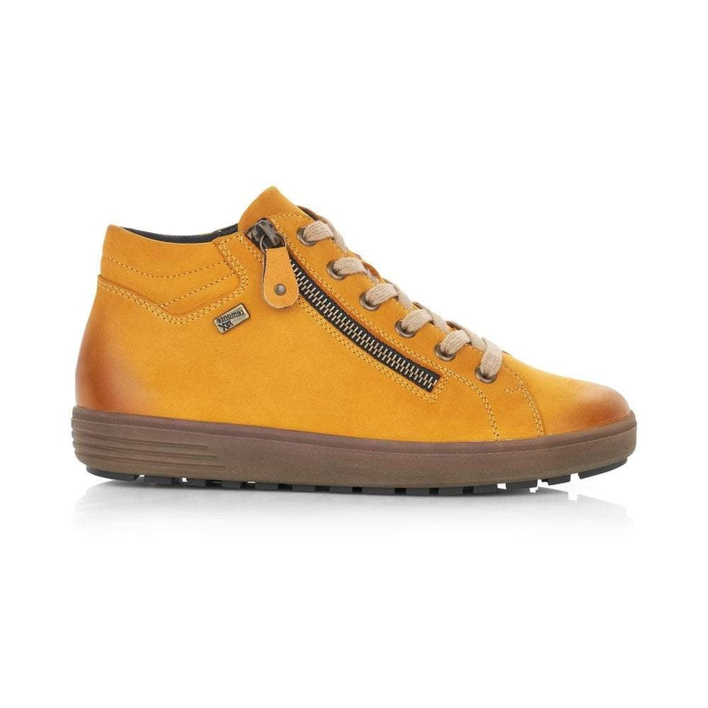Planet Yellow Lace Ups