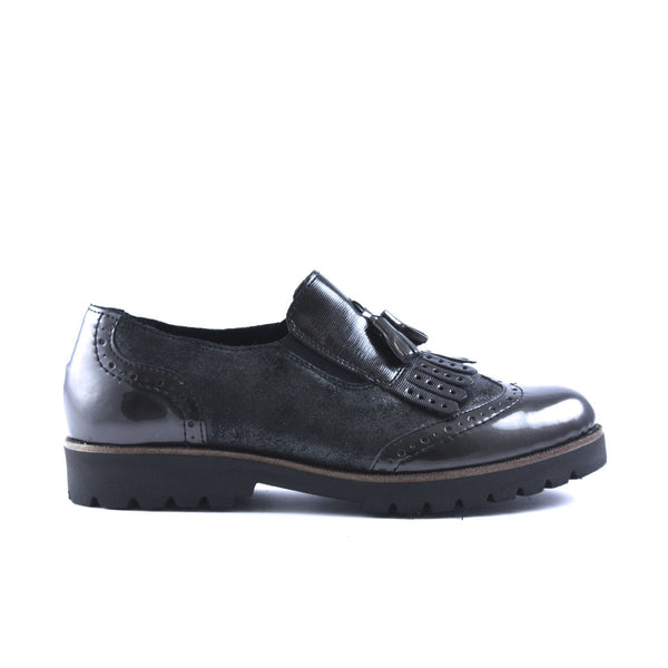 Lauren Grey Combo Loafer