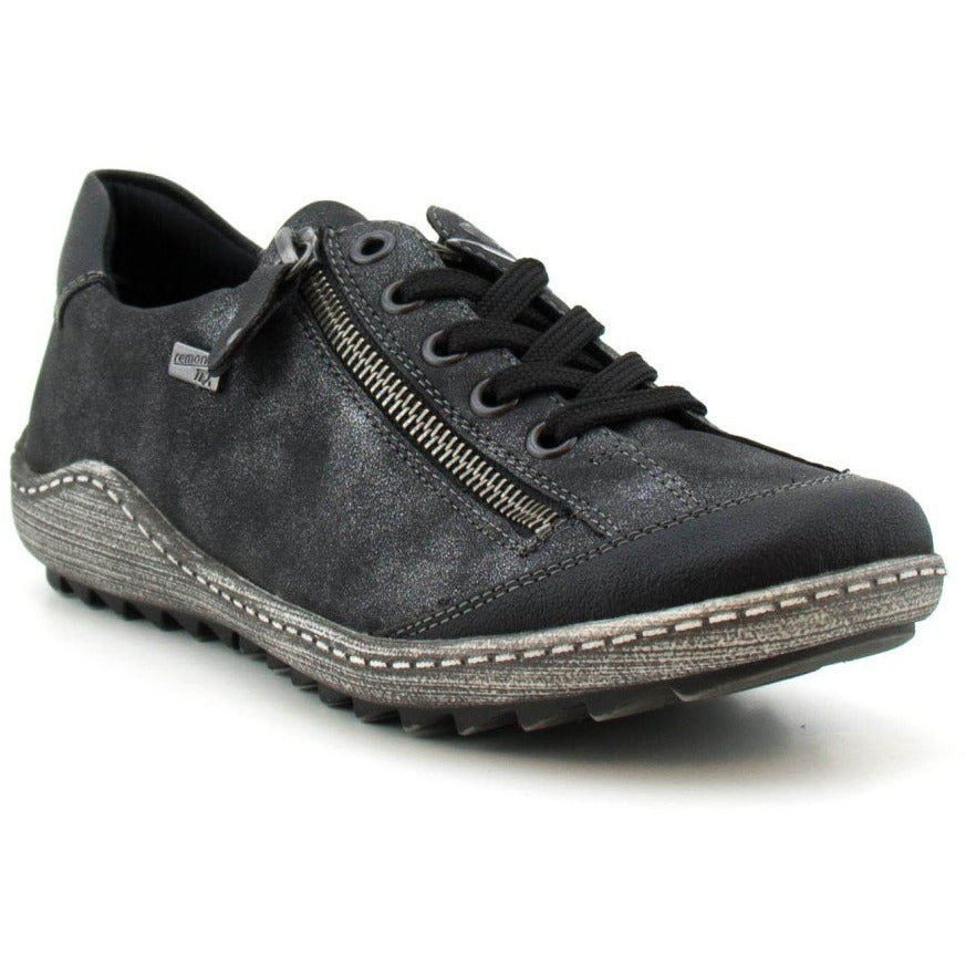 Abigail Black Lace Ups