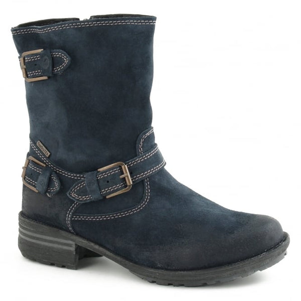 Sandra 30 Blue Ankle Boots
