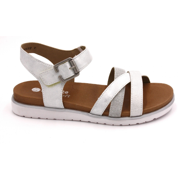 Tilly Silver Sandals