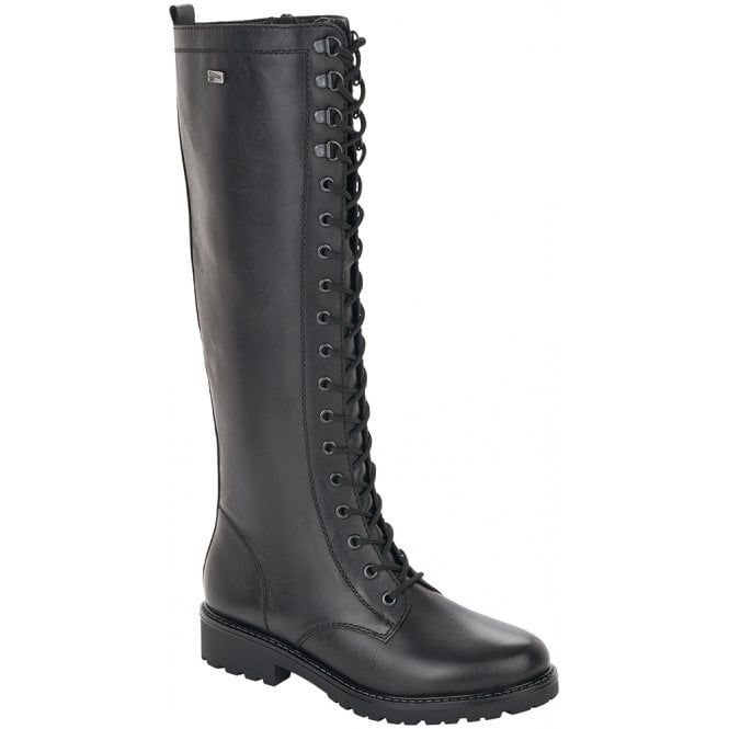 Molly Black High Leg Boots