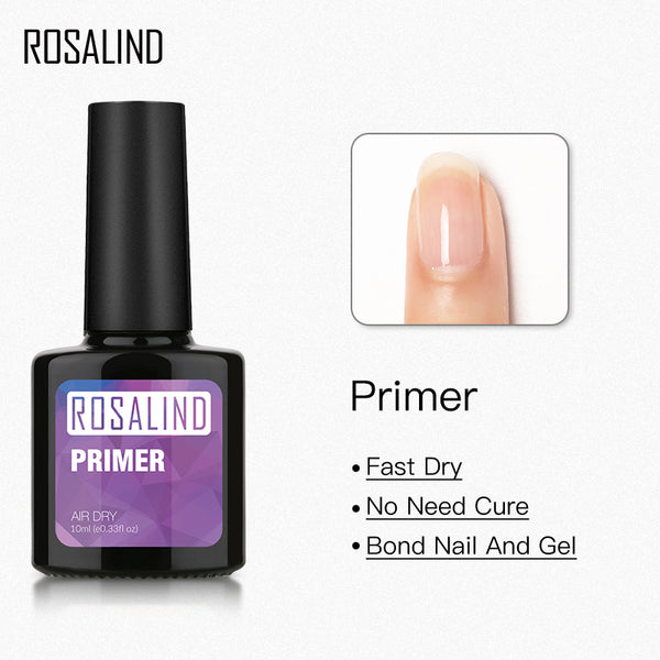 Rosalind 15ML Dehydrator & Top Coat Kits - rosalindclub