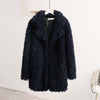 ROSANO Oversized Faux Fur Jacket