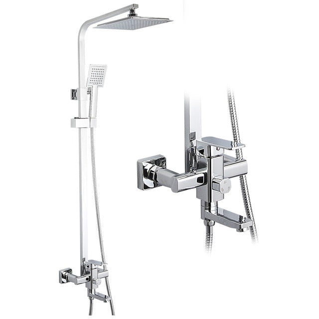 MANDARO Rainfall Shower Bathroom Mixer
