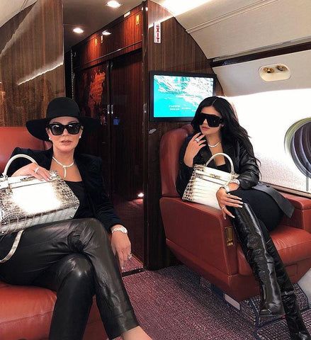 Hermes Kelly Himalaya Kris and Kylie Jenner