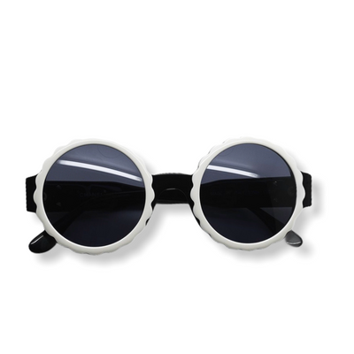 Chanel Vintage Round Flower Sunglasses