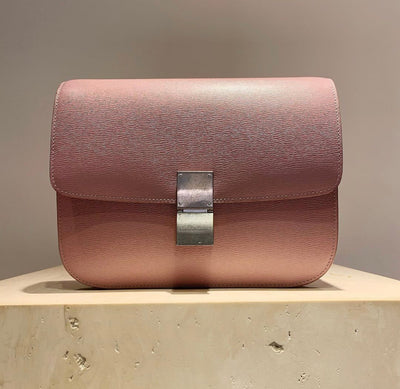 'Old Céline' Medium Classic Box Bag Pink