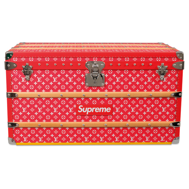 Louis Vuitton x Supreme Monogram Malle courier 90 Trunk